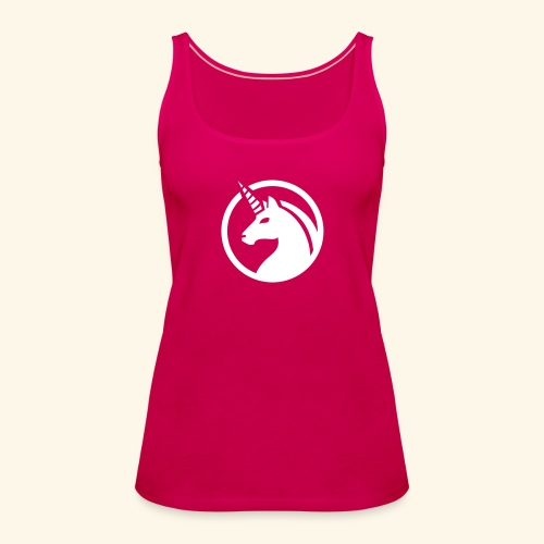 Unicorn / Einhorn - Frauen Premium Tank Top