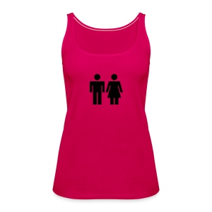 Man And Woman - Women's Premium Tank Top