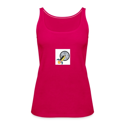Science First Logo - Women's Premium Tank Top