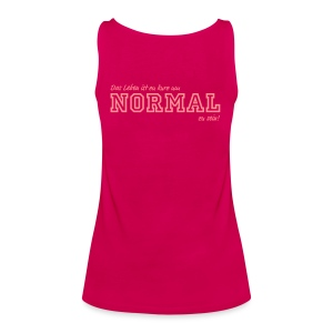 NORMAL - Frauen Premium Tank Top