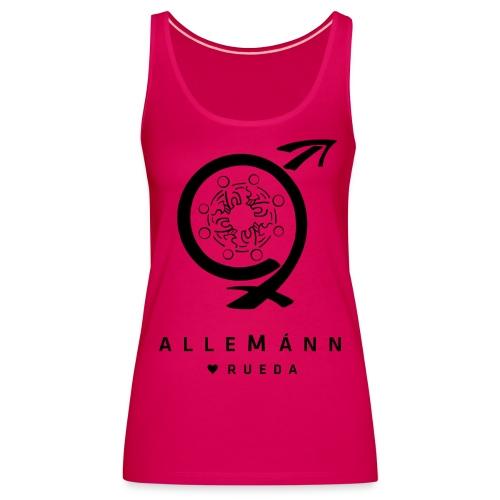 alleMánn Shirt 2 - Frauen Premium Tank Top