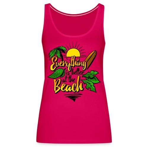 Beach-colour - Frauen Premium Tank Top