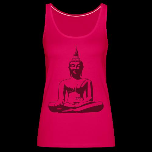 Boeddha beeld - Vrouwen Premium tank top