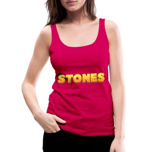 Stones - Premiumtanktopp dam