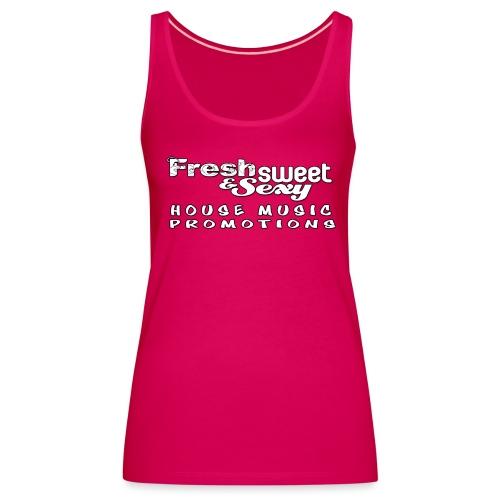 Fresh Cap Logo 4 - Women's Premium Tank Top