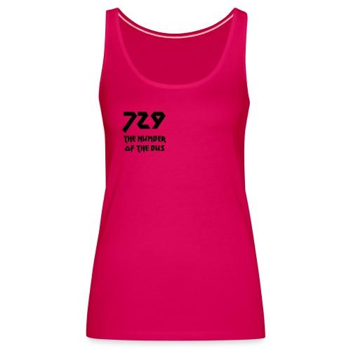 729 grande nero - Canotta premium da donna