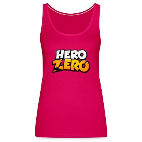 Hero Zero Logo - Women's Premium Tank Top