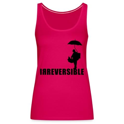 irreversible shirt logo 01 - Women's Premium Tank Top