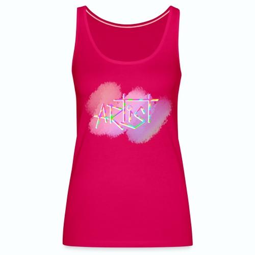 Artist in Colors - Camiseta de tirantes premium mujer
