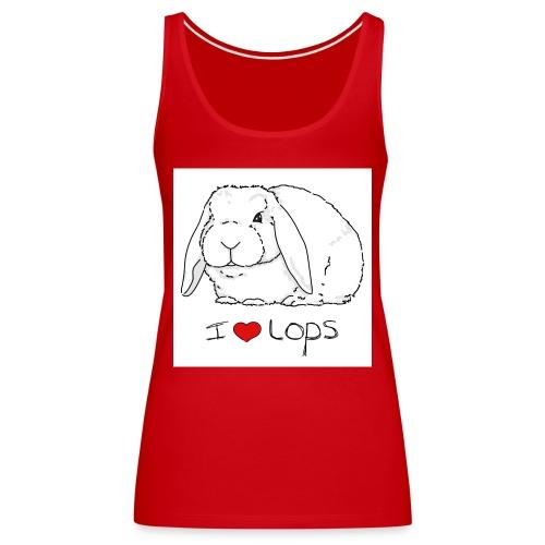 I Love Lops 2 - Women's Premium Tank Top