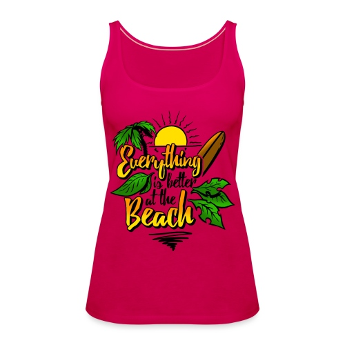 Beach-colour - Frauen Premium Tank Top