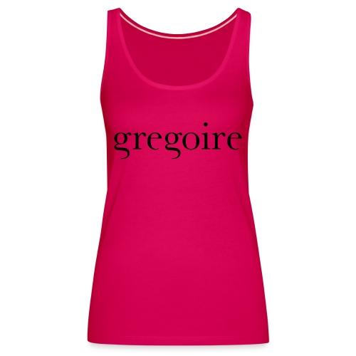 gregoire logo - Débardeur Premium Femme