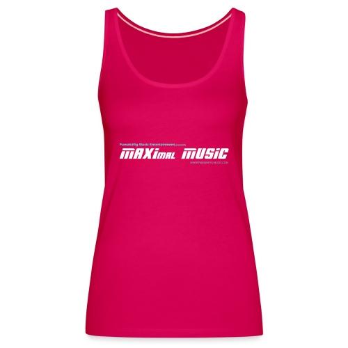 maximal music logo01 - Frauen Premium Tank Top