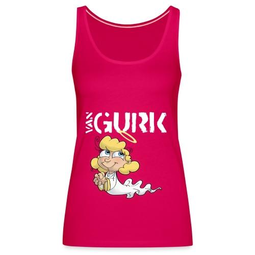 VAN GURK Engerl mit Logo WEISS - Frauen Premium Tank Top