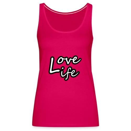 love life - Débardeur Premium Femme