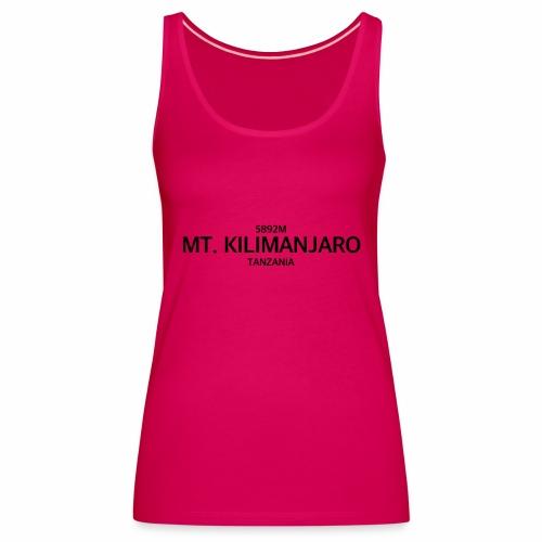 MT. KILIMANJARO - Camiseta de tirantes premium mujer