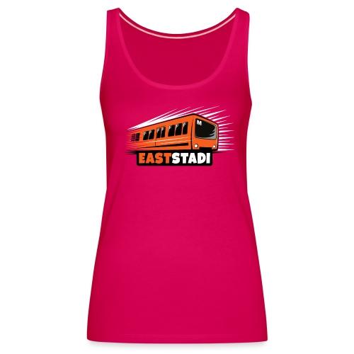 ITÄ-HELSINKI East Stadi Metro T-shirts, Clothes - Naisten premium hihaton toppi