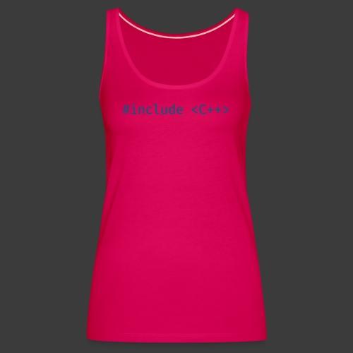 Blue Include Logo - Women's Premium Tank Top