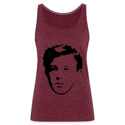 Arthur Rimbaud visage - Débardeur Premium Femme