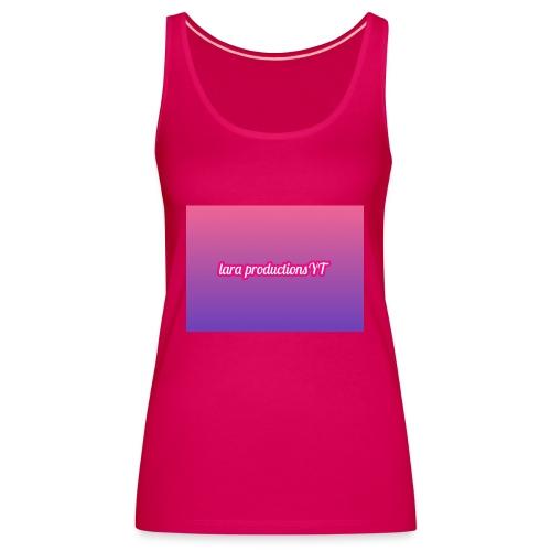 lara banner - Women's Premium Tank Top