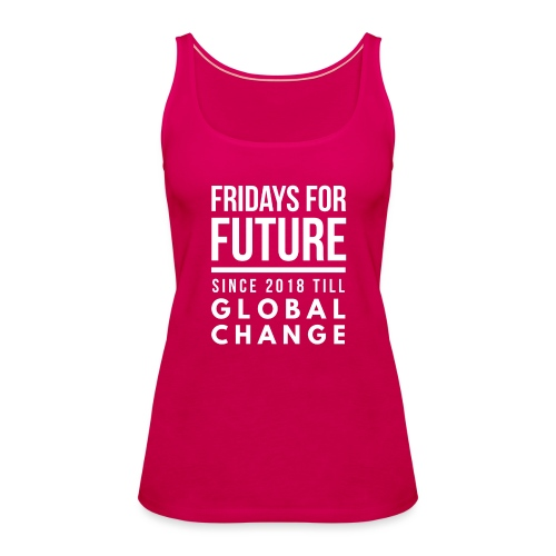 Fridays for Future till GlobalChange RescueTheBlue - Frauen Premium Tank Top