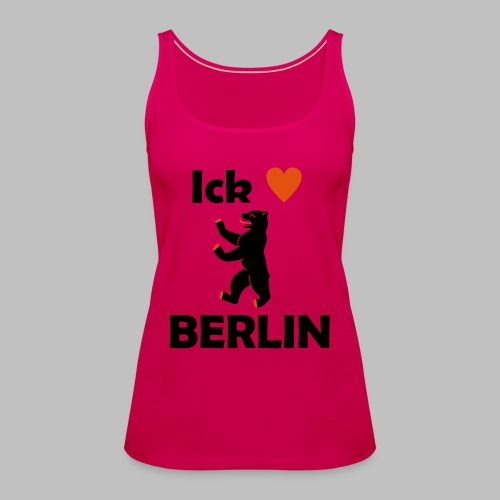 Ick liebe ❤ Berlin - Frauen Premium Tank Top