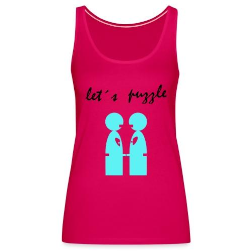 let´s puzzle gay - Camiseta de tirantes premium mujer