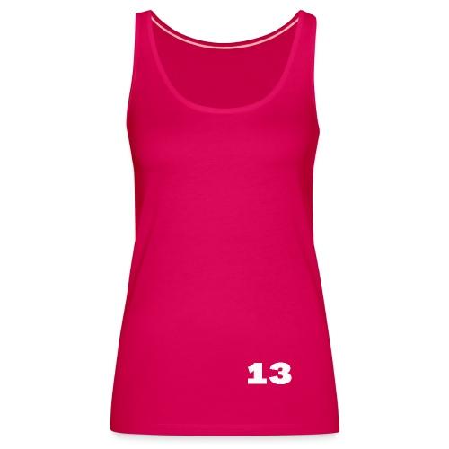 Getal 13 - Vrouwen Premium tank top