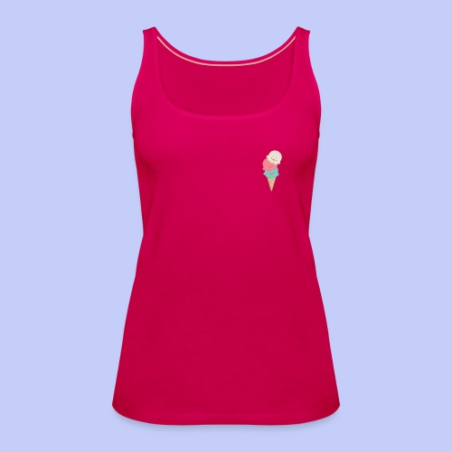 Cute Icecreams - Women's Premium Tank Top