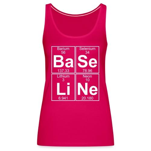 Ba-Se-Li-Ne (baseline) - Full - Women's Premium Tank Top