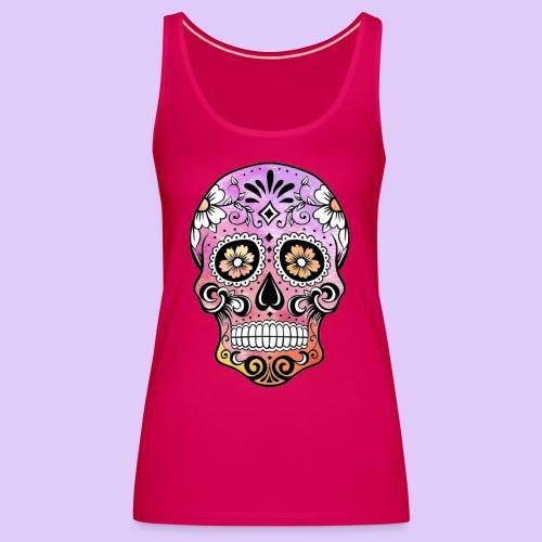 SkullColors - Camiseta de tirantes premium mujer