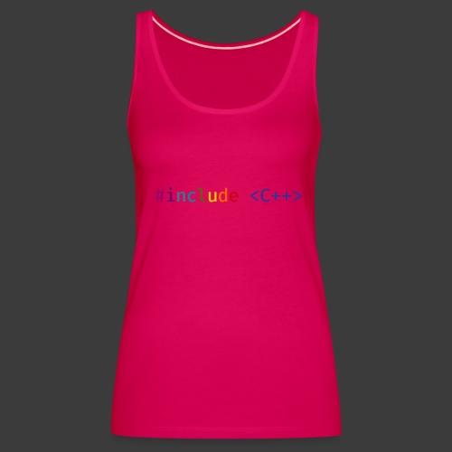 Rainbow Include - Women's Premium Tank Top