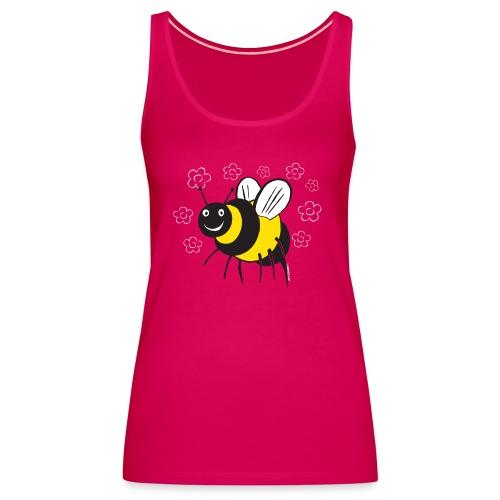 MEHILÄINEN BEE, Textiles and Gifts 10-1E - Naisten premium hihaton toppi