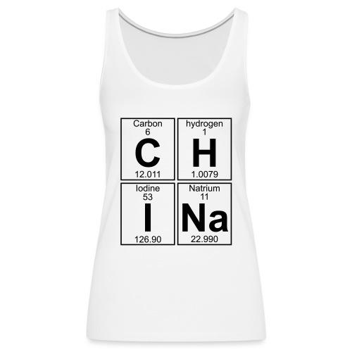 C-H-I-Na (china) - Full - Women's Premium Tank Top