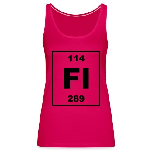 Flerovium (Fl) (element 114) - Women's Premium Tank Top
