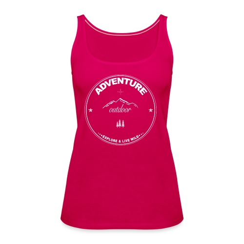 Adventure - Outdoor - Frauen Premium Tank Top