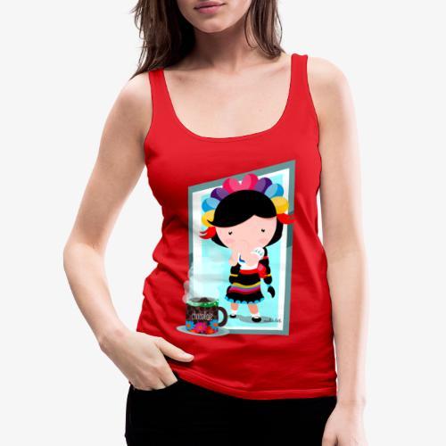 mexicanita - Camiseta de tirantes premium mujer