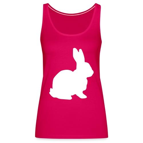 Follow the white rabbit. - Frauen Premium Tank Top