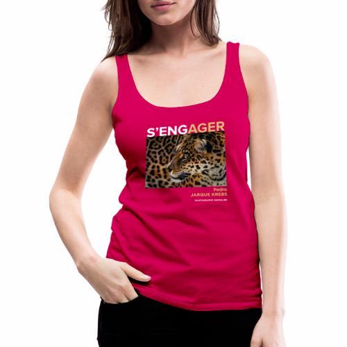 1 Achat = 1 Don à l'association Rainfer - Débardeur Premium Femme