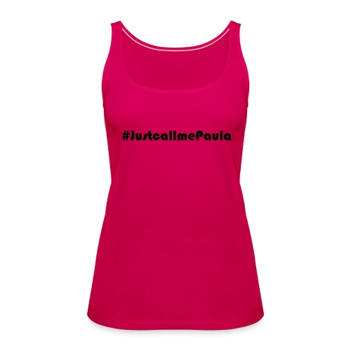 Paula (Black) - Women's Premium Tank Top