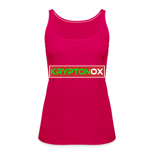 Kryptonox Logo - Women's Premium Tank Top