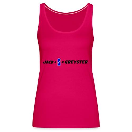 jack + = greyster - Débardeur Premium Femme