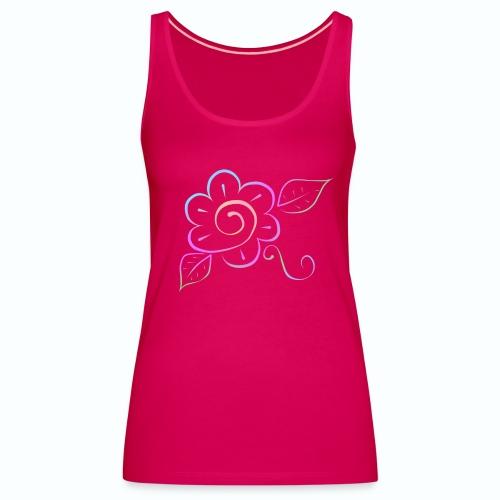 Tonalidades de en flor - Camiseta de tirantes premium mujer