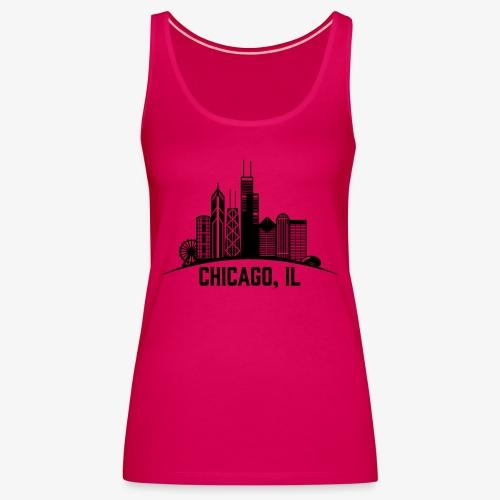 Chicago, IL - Camiseta de tirantes premium mujer