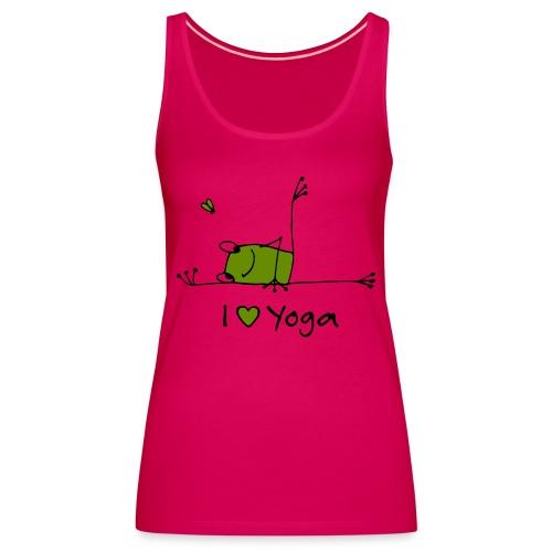 Frieda - I love Yoga - Frauen Premium Tank Top