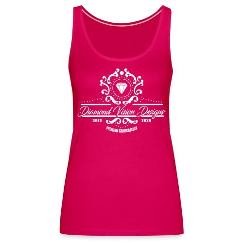 Logo Diamond Vision Design - Women's Premium Tank Top