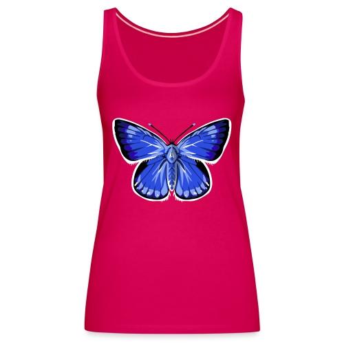 vlinder2_d - Vrouwen Premium tank top