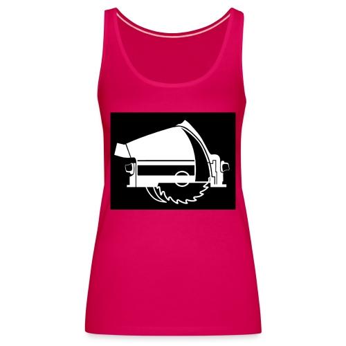 saw - Women's Premium Tank Top