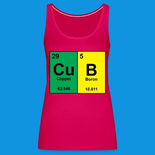 Science Cub Tee - Women's Premium Tank Top