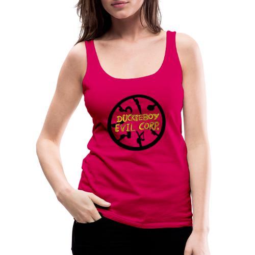 Duckieboy Evil Corporation - Camiseta de tirantes premium mujer